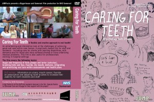 an early version of the cover for Caring for Teeeth