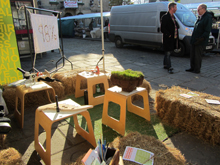 Market Stall for Meadows and Grasslands in Wells